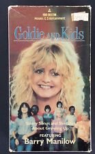 Goldie Hawn and Kids Listen to Us VHS Barry Manilow Nicky Katt One To Grown On