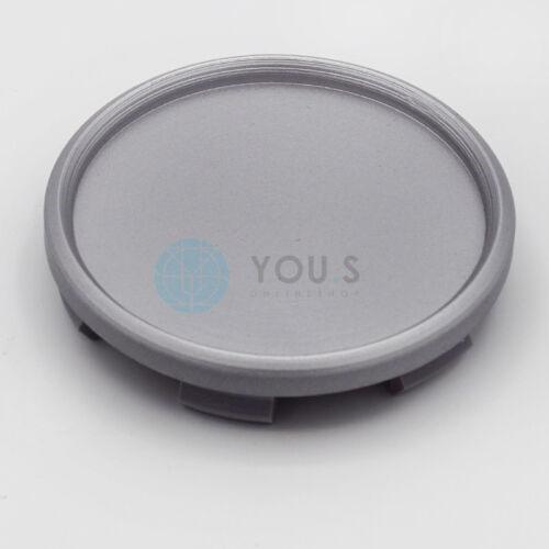 4 x YOU.S Nabenkappen Nabendeckel Felgendeckel 68,0-63,0 mm silber
