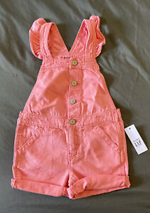 Toddler Girl Size 3 3T Baby Gap Pink Snap Denim Jean Jacket Outerwear