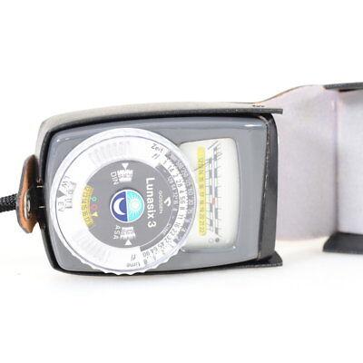 Erfinderisch Gossen Lunasix 3 Dauerlichtbelichtungsmesser In Grau Meter Fotostudio-zubehör