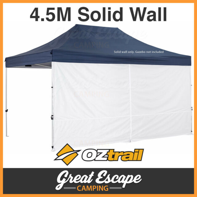 OZtrail Gazebo Solid Wall Kit 4.5 with Centre Zip