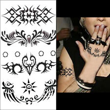 1 Pc 3D Waterproof Removable Temporary Decal Totem Symbols Body Art Tattoos