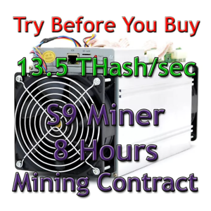 Bitmain-Antminer-S9-13-5-THash-sec-Guaranteed-8-Hours-Mining-Contract-SHA256