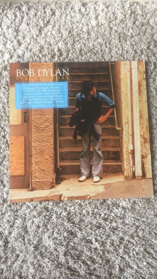 LP, Bob Dylan, Street Legal
