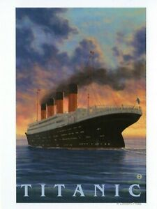 POSTCARD-TAKEN-FROM-OLD-TRAVEL-POSTER-OF-TITANIC-THIS-IS-A-REPROIDUCTION