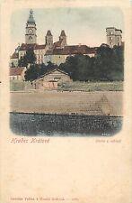 Hradec Králové Kralove Castle Czech Republic 1900s postcard