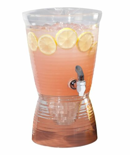 Drinks Dispenser Beverage Water Party Juice Container Storage Holder Party Clear