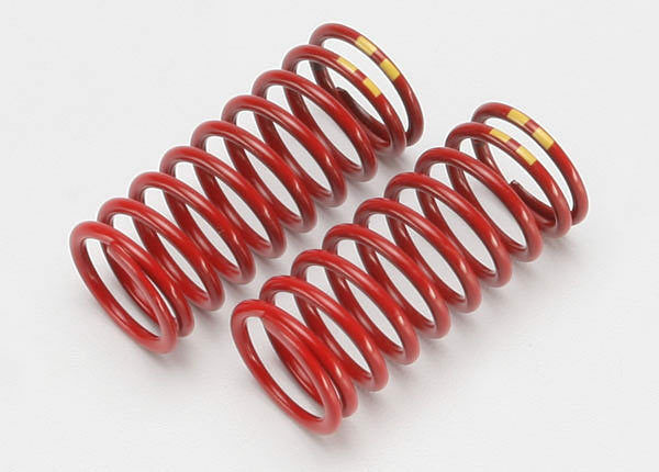 Traxxas 5648 Muelles Rojo (4.9 Double Amarillas )/ Spring Shock GTR 4.9 Yello