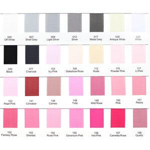Grosgrain-Ribbon-1-3-metres-9-25-38-50-75mm-Premium-Quality-Ribbon-Pink-Blue