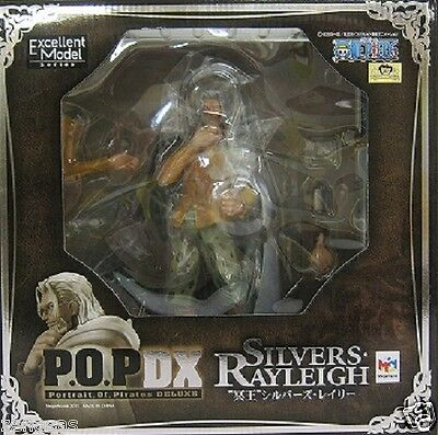 USED P.O.P Portrait Of Pirates One Piece NEO-DX Silvers Rayleigh Megahouse