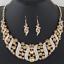 Fashion-Elegant-Women-Rhinestone-Crystal-Choker-Bib-Statement-Pendant-Necklace thumbnail 18