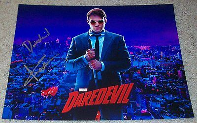 Autographs-original Entertainment Memorabilia Charlie Cox Signed Autograph 11x14 Photo F W/exact Proof & Daredevil Inscription