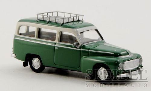 green//white with roofrack 1//87 wonderful modelcar VOLVO P210 DUETT 1961