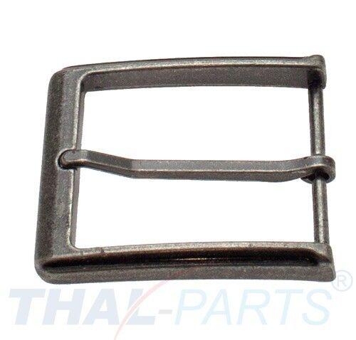 Gürtelschnalle für 40mm Gürtel Zinkdruckguss Nickel Antik Gürtelschliesse Buckle