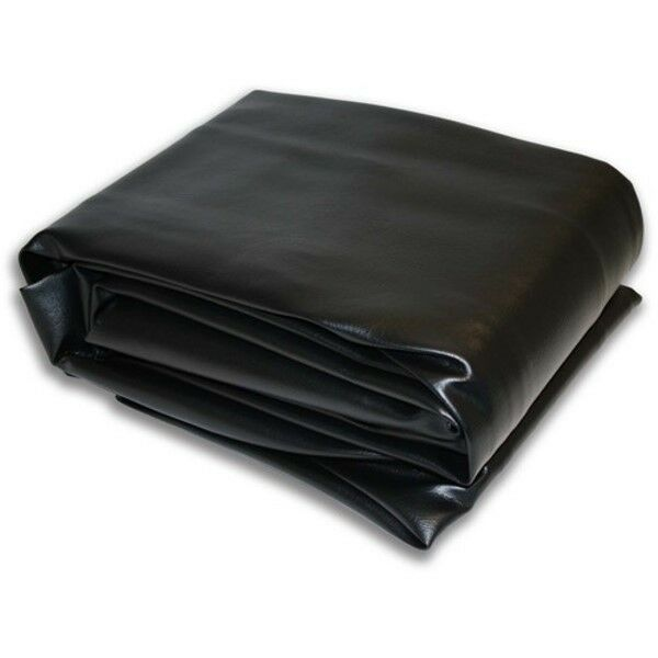 "7V Black Hood Fitted Pool Table Cover, 53""x93""  Double Sewn Seams"
