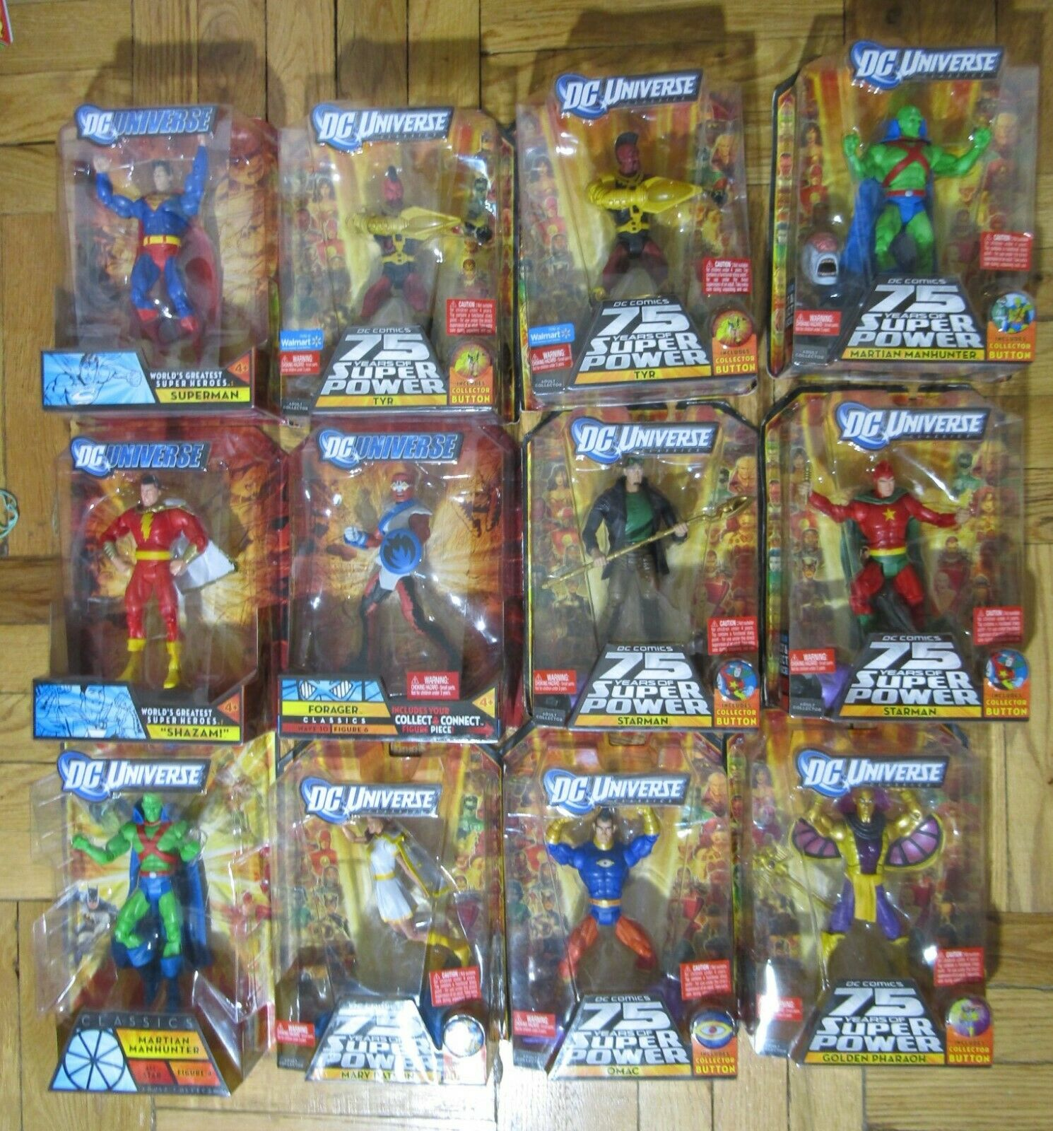 DC Universe classeics DCUC BAF - Choice of azione cifras - nuovo Lot Var Waves