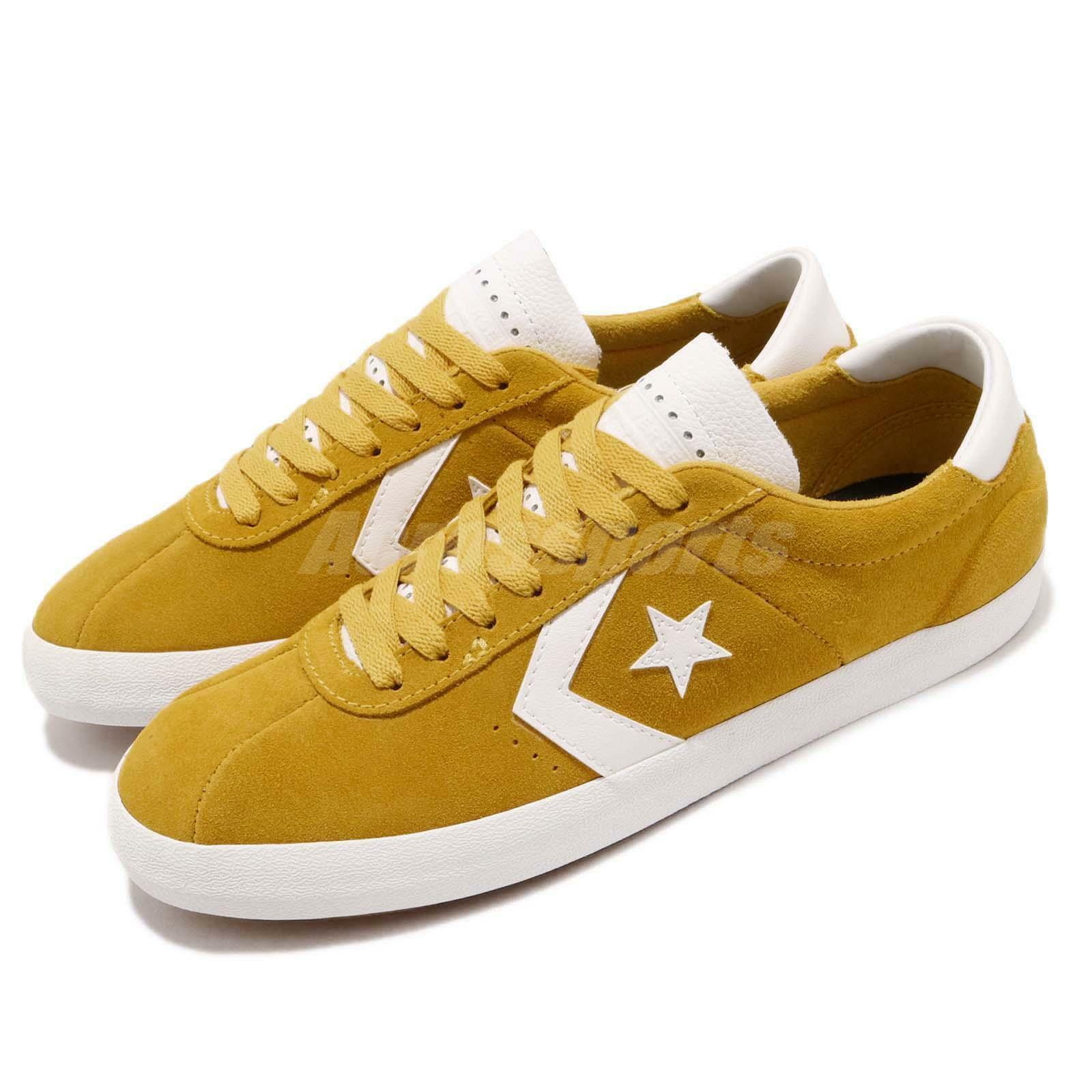 Converse Breakpoint Pro Yellow White Suede Hommes  Casual Casual Casual Shoes Sneakers 161528C 3ed7ce