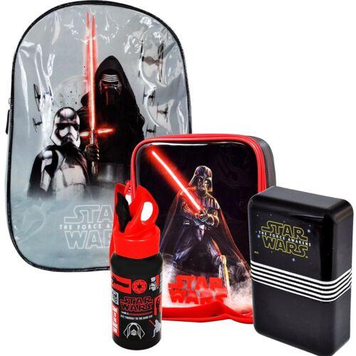 Disney Star Wars /'The Force Awakens/' Children Lunch Bag Backpack Rucksack Bentos