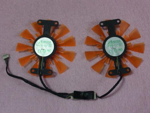 87mm ZOTAC GTX760 GTX950 Dual Fan Replacement 24mm 72mm GA91S2H 12V 0.35A R212a