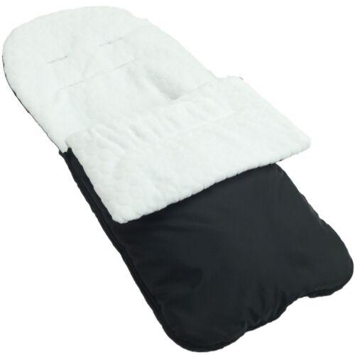Guimauve manchon de pieds//Cosy Toes compatible avec Cosatto wow-Blanc