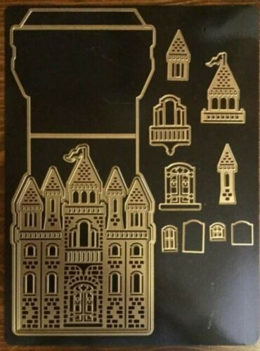 Anna Griffin Castle Easel Cut and Emboss Dies