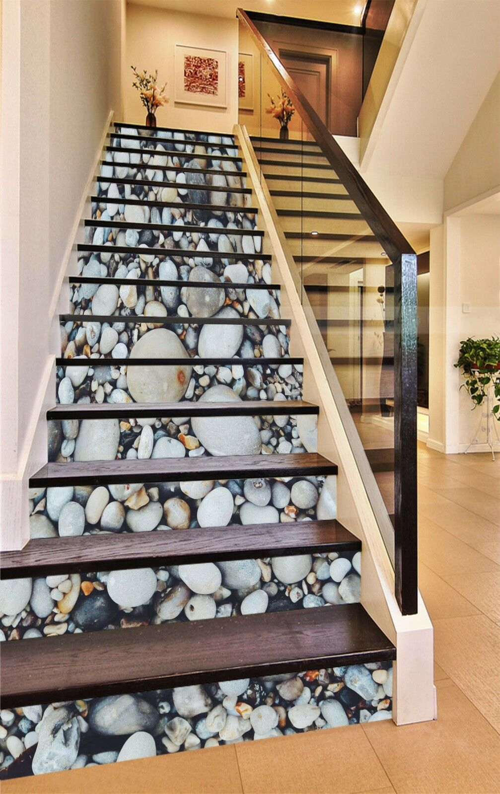 3D Cobble Photo 985 Stair Risers Decoration Photo Mural Vinyl Decal Wallpaper AU