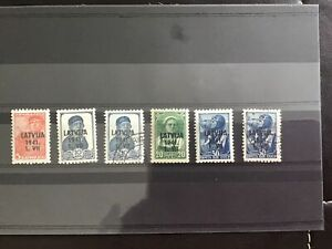 Lithuania stamps on stock card   R29858