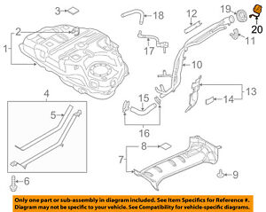 Mazda Oem 13 15 Cx 5 Fuel Tank Filler Gas Cap Kd3542250a