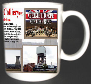 GRIMETHORPE-COLLIERY-COAL-MINE-MUG-LIMITED-EDITION-GIFT-MINERS-YORKSHIRE-PIT