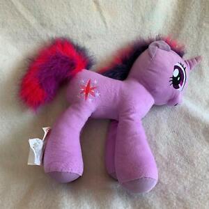 "My Little Pony Unicorn Twilight Sparkles Plush Stuffed Animal MLP 18"" Purple"
