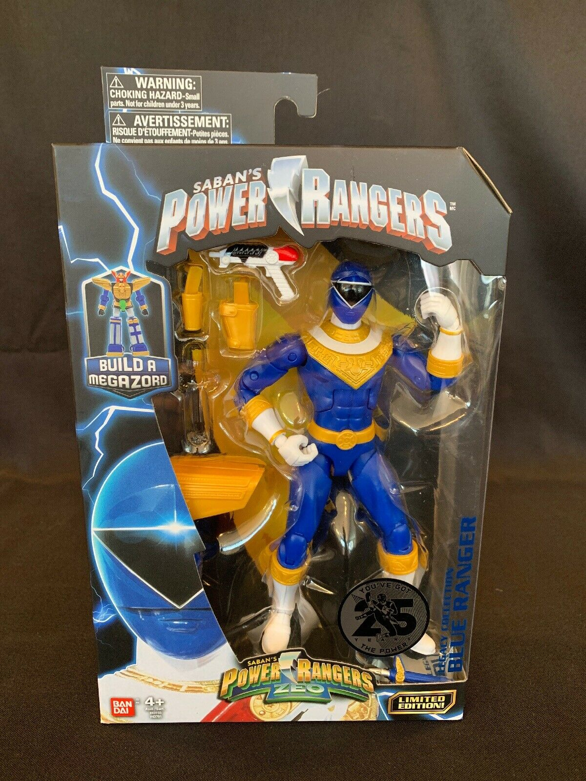Zeo Green Bandai America Incorporated 43787 Power Ranger 6.5 Legacy Action Figure