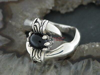 Drachenkralle Dragon Claw Ring Silberring Gothic Feingehalt Silber 925