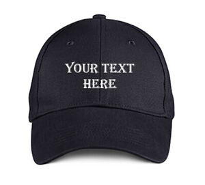 Custom-Black-EMBROIDERED-Hat-Cap-Personalized-ALGERIAN-Baseball-Trucker