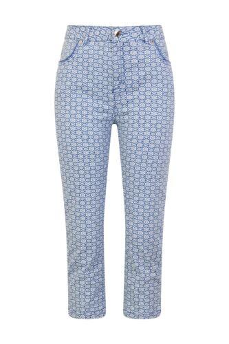 Ex M/&S Per Una Ladies Women Cropped Tile Print Leg crops  RRp £35