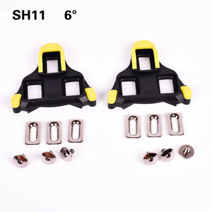 Shimano SPD SL SM-SH12 2 Degrees Road Bike Bicycle Replacement Pedal Cleats Set