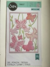 Sizzix Thinlit Large Die Spring Garden by Craft Asylum 660432 New Free P & P