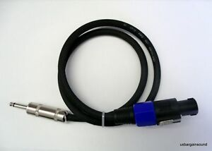 ProCraft PSP14-10-SS 10 Foot 14 Ga Speaker Cable Wire Speakon to Speakon