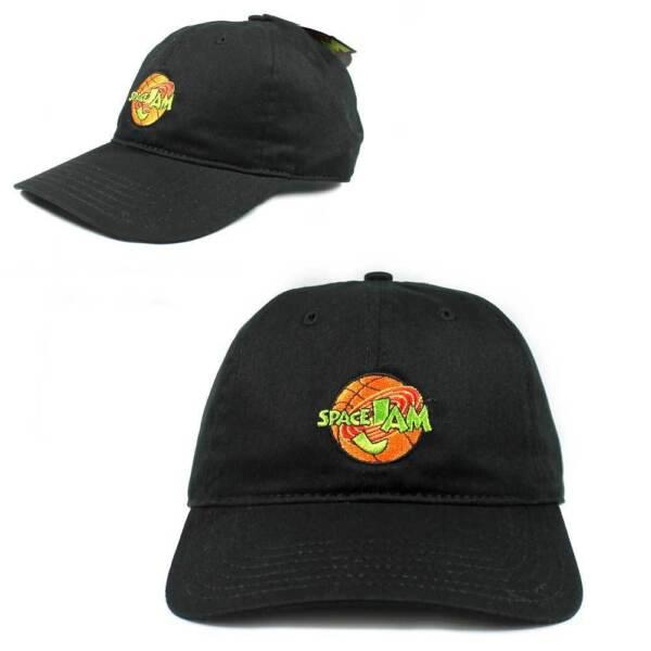 Buy Space Jam Looney Tunes Michael Jordan Black Dad Hat Cap Men Adult Size  Strapback online  5541b2546f0