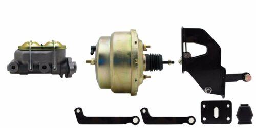 "Mopar 8/"" dual diaphragm power brake booster /& disc or drum master cylinder"