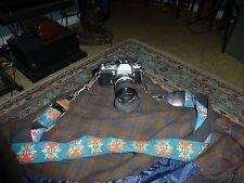 Nikon Nikkormat EL 35mm camera 86mm zoom-nikkor-C auto lens 1:35 F-43 4 Parts