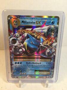 M Blastoise EX 22/108 ULTRA RARE HOLO Pokemon Card TCG XY Evolutions GM GEM MINT