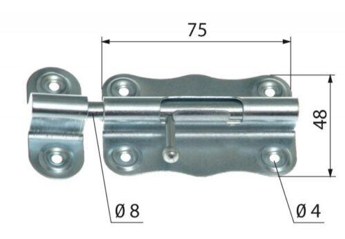 Schubriegel W antik Bolzenriegel 100er Türriegel verzinkt