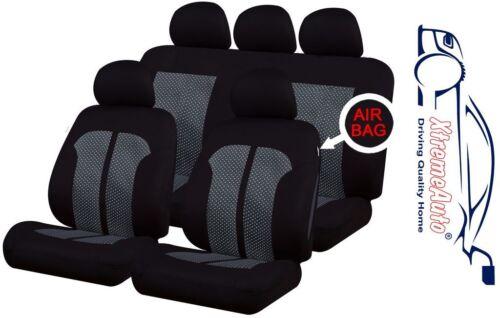 9 PCE Knightsbridge Full Set of Car Seat Covers for Mercedes-Benz A B C E Class