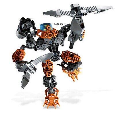 Lego 8568 Bionicle Mata Nui Toa Nuva Pohatu Nuva Notice complet de 2002 CN52