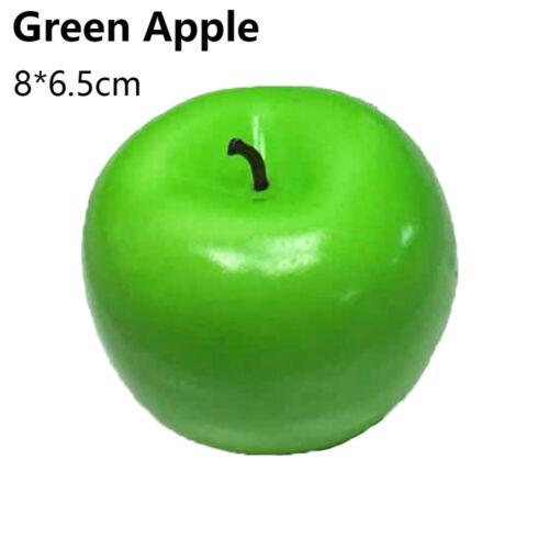 Ornament Artificial Apple Simulation Fruits Fake Peach Lemon Lifelike Orange