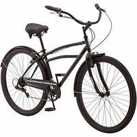 29 Schwinn Midway Mens Cruiser Bike Fender Steel Frame Black Retro Outdoor