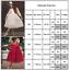 Kids-Baby-Girls-Red-Party-Dress-Princess-Wedding-Flower-Girls-Fancy-Tutu-Dress thumbnail 17