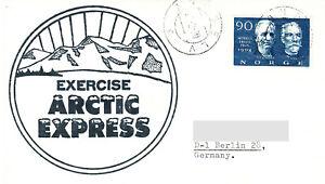 Polarpost Norwegen: Exercise ARCTIC EXPRESS - 1970
