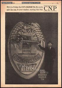BADGE-714-DRAGNET-Orig-1959-Trade-AD-TV-promo-poster-JACK-WEBB-Joe-Friday