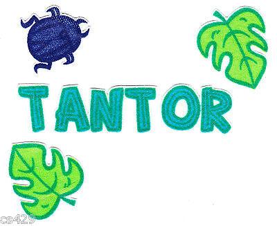 "3/""-6/"" Disney tantor elephant heat transfer iron on character"